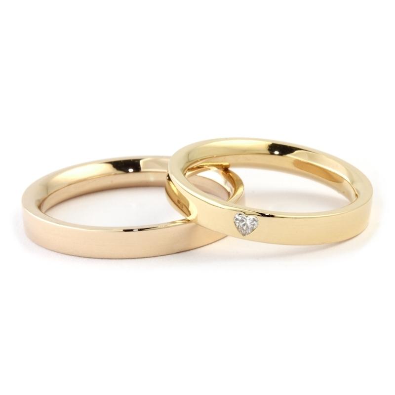 codice promozionale a763d 69215 Romagioielli - Fedi Nuziali CONFORT in Oro Giallo