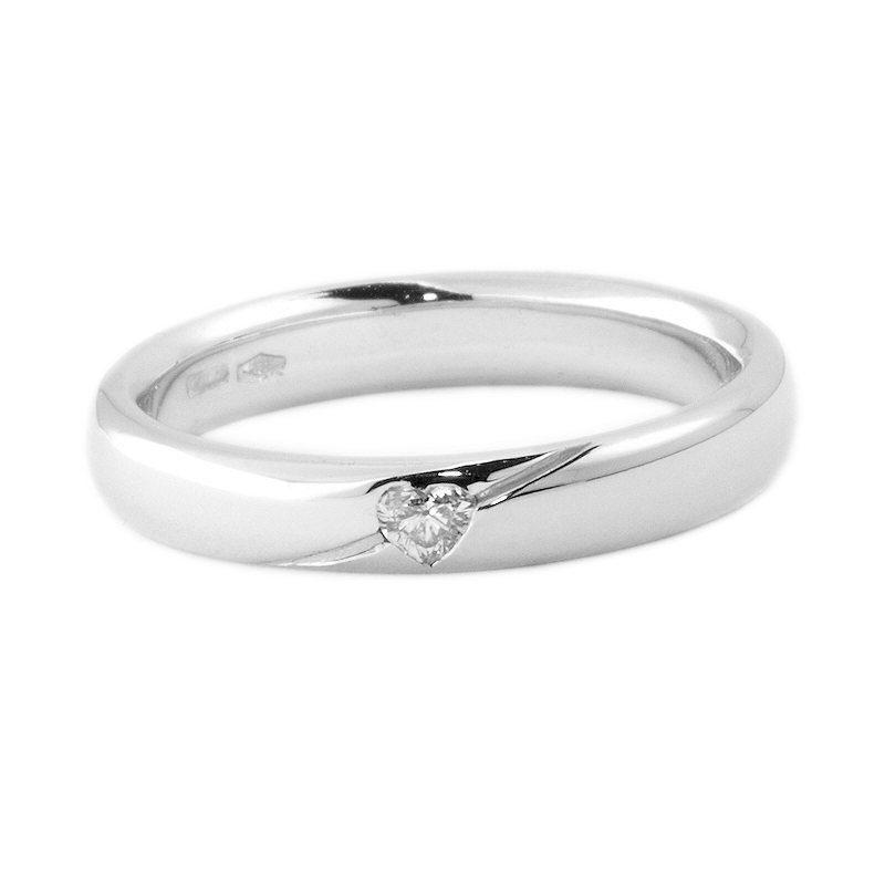 White Gold Engagement  Ring mod. Tokyo mm. 3,60